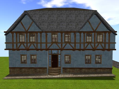 Fachwerk House 2 - Front